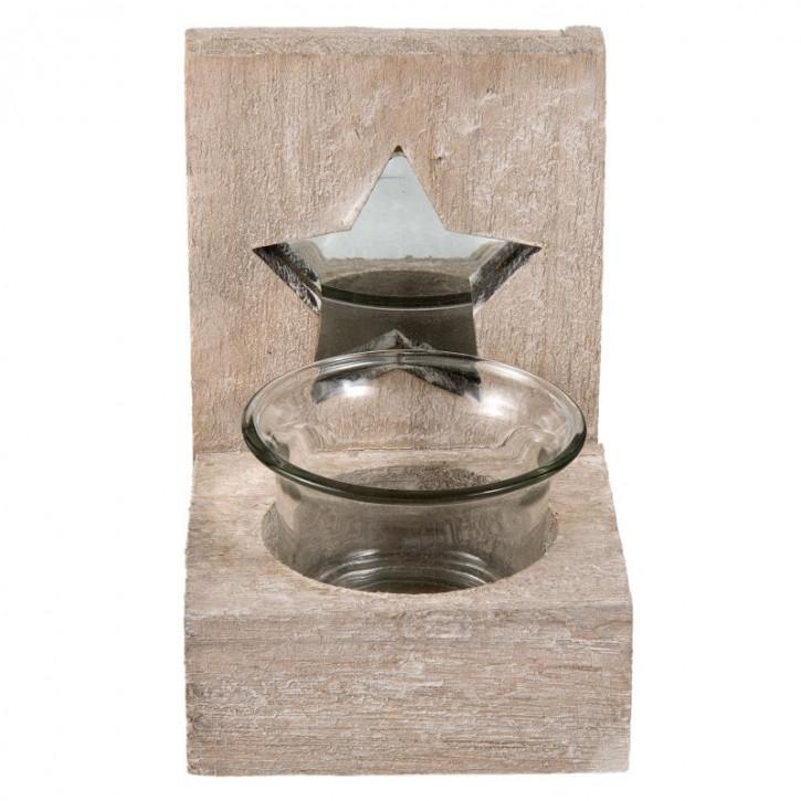 Teelichthalter 8x8x12 cm