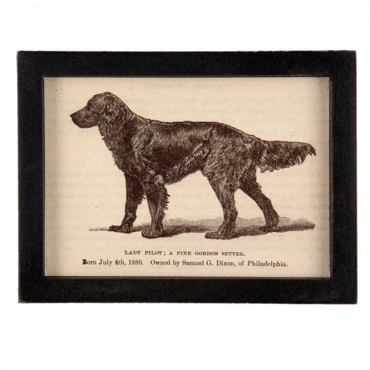 Bild Hund 21x3x15 cm