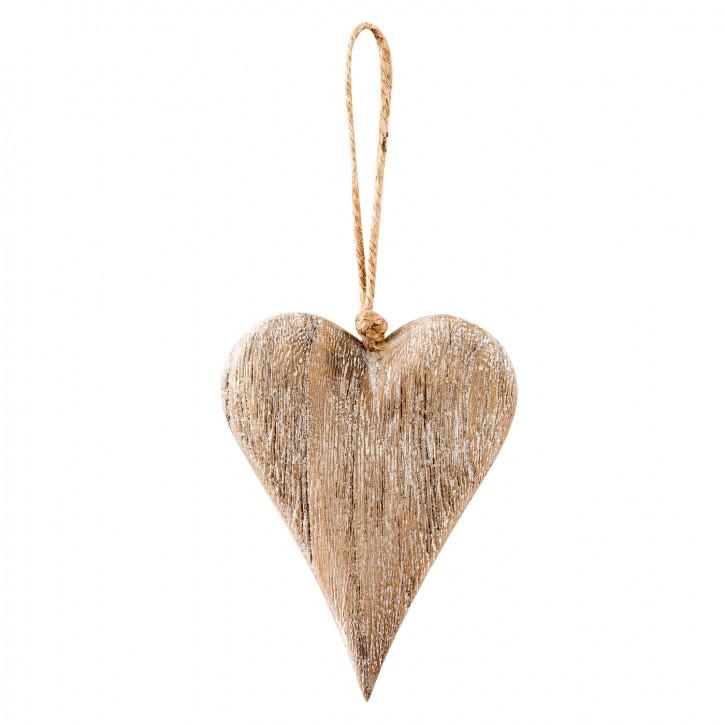 Hängedekoration wood 13x10x3 cm