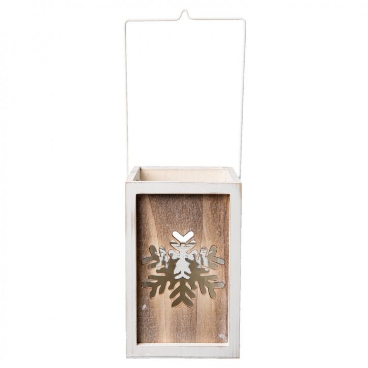 Teelichthalter 15x15x23 cm