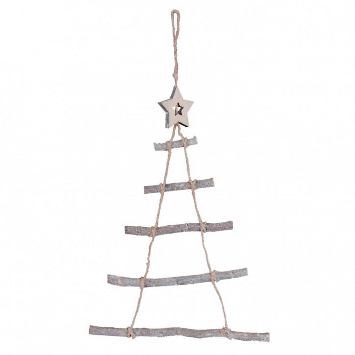Hänger Weihnachtsbaum 34x1x50 cm