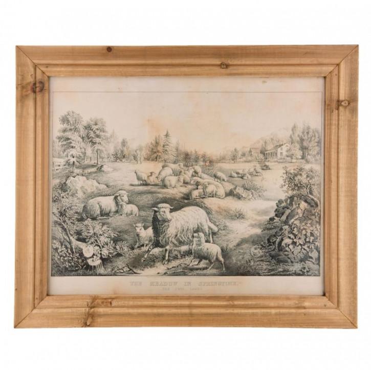 Gemälde Deko 60x2x50 cm