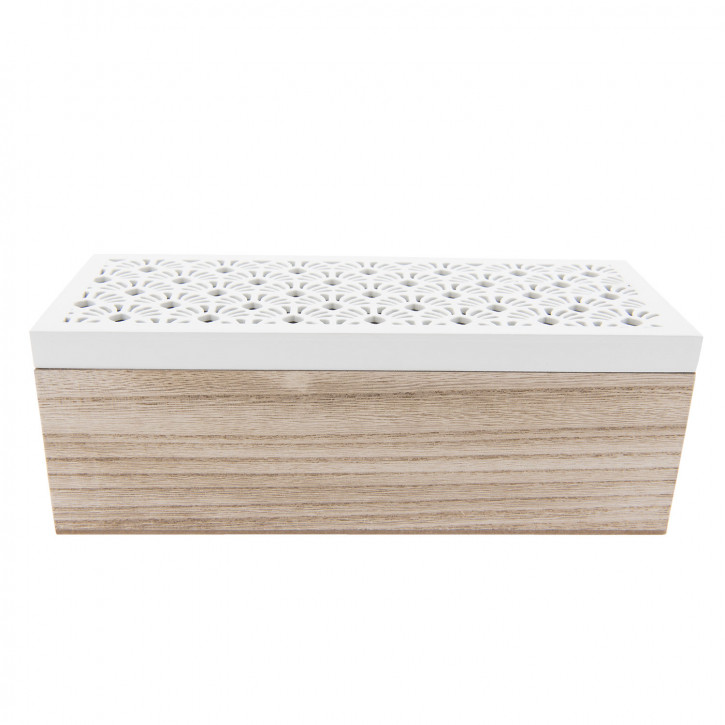 Tee-Box (3 compartments) 23x9x8 cm