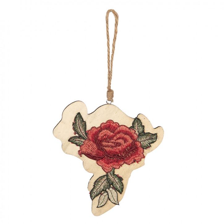 Hänger Blume 15x14 cm