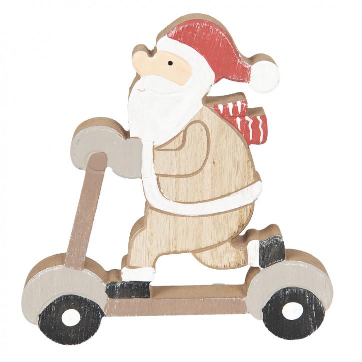 Weihnachtsmann 19x20x2 cm