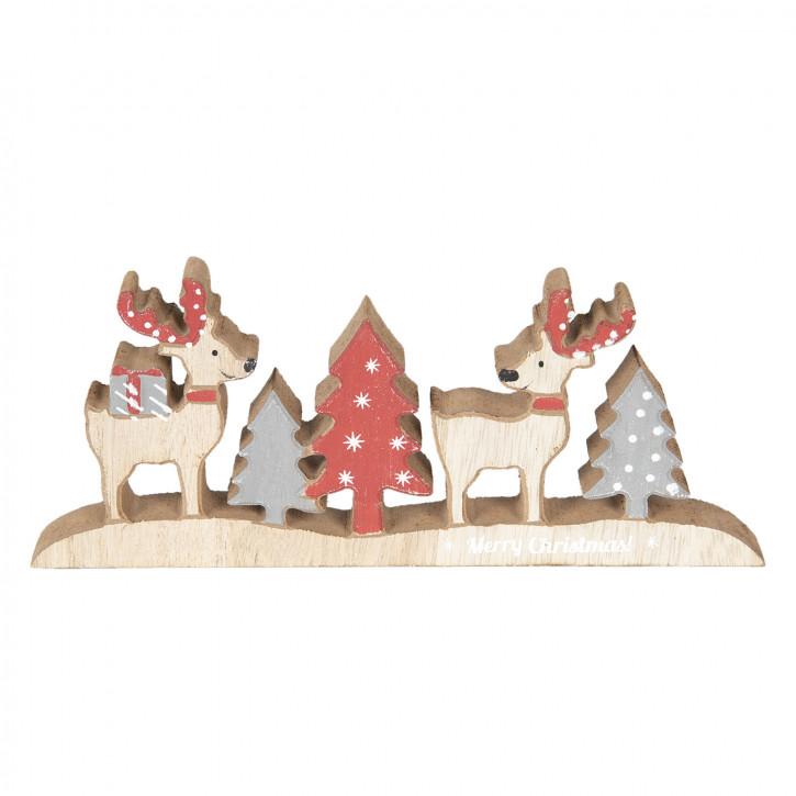 Dekoration Weihnachten 22x9x2 cm