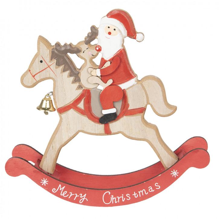 Weihnachtsmann 22x22x5 cm