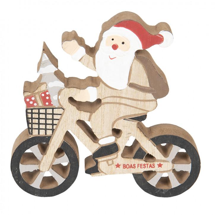 Weihnachtsmann 13x13x2 cm