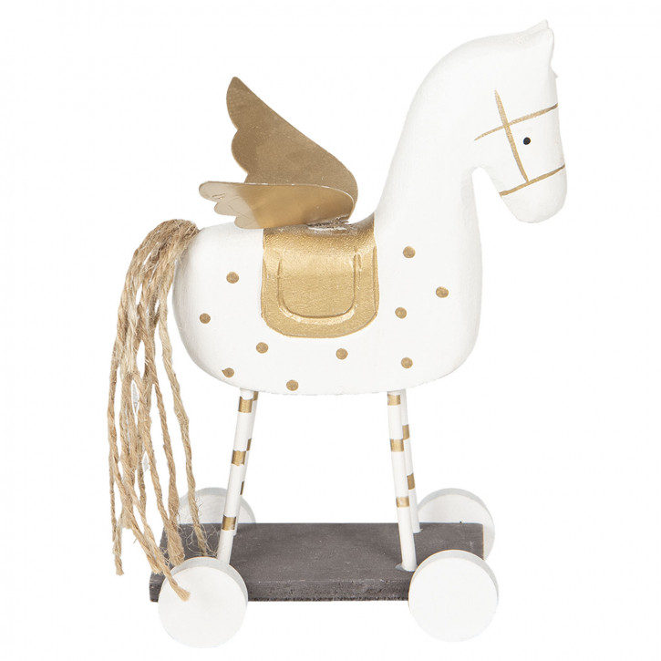 Dekoration Pferd 19x7x12 cm