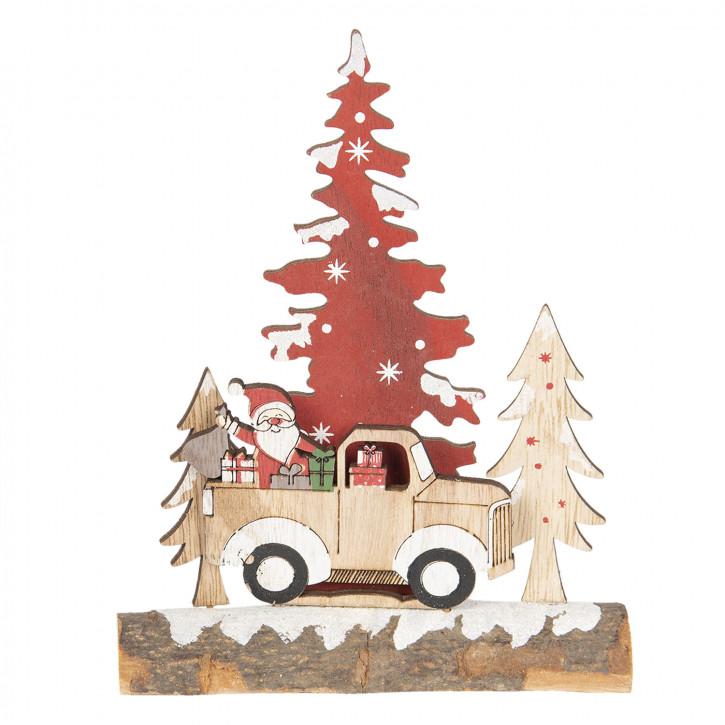 Dekoration Weihnachtsbaum 6x5x20 cm