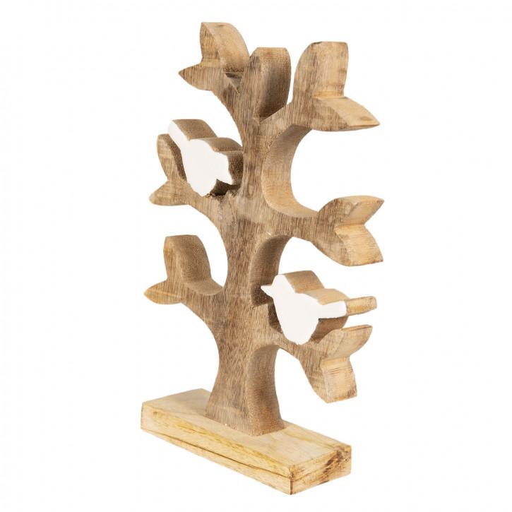 Dekoration Baum 14x2x20 cm