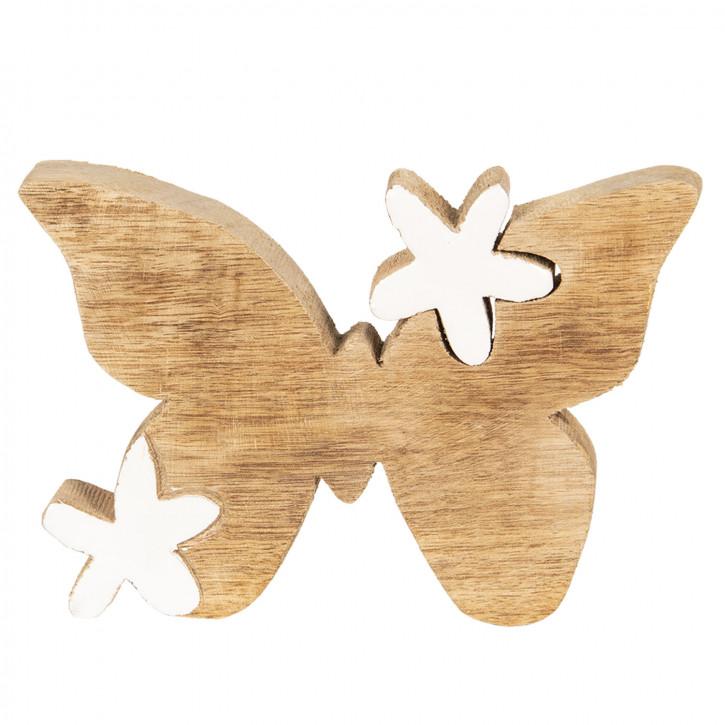 Dekoration Schmetterling 14x2x10 cm