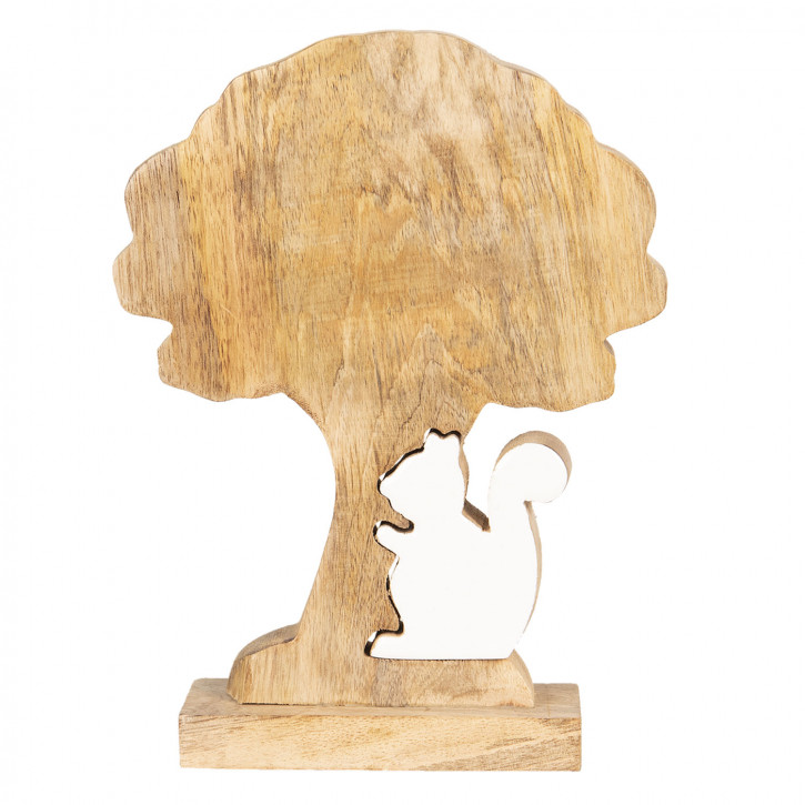 Dekoration Baum» 17x5x22 cm