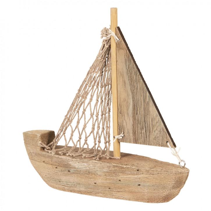 Dekoration Modell Boot 21x5x22 cm