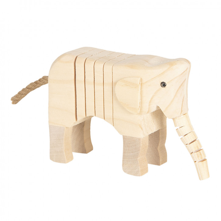 Dekoration Elefant» 4x9x11 cm