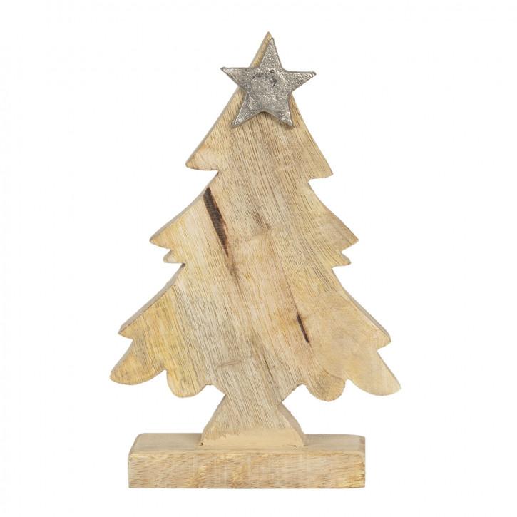 Dekoration Weihnachtsbaum 15x5x20 cm