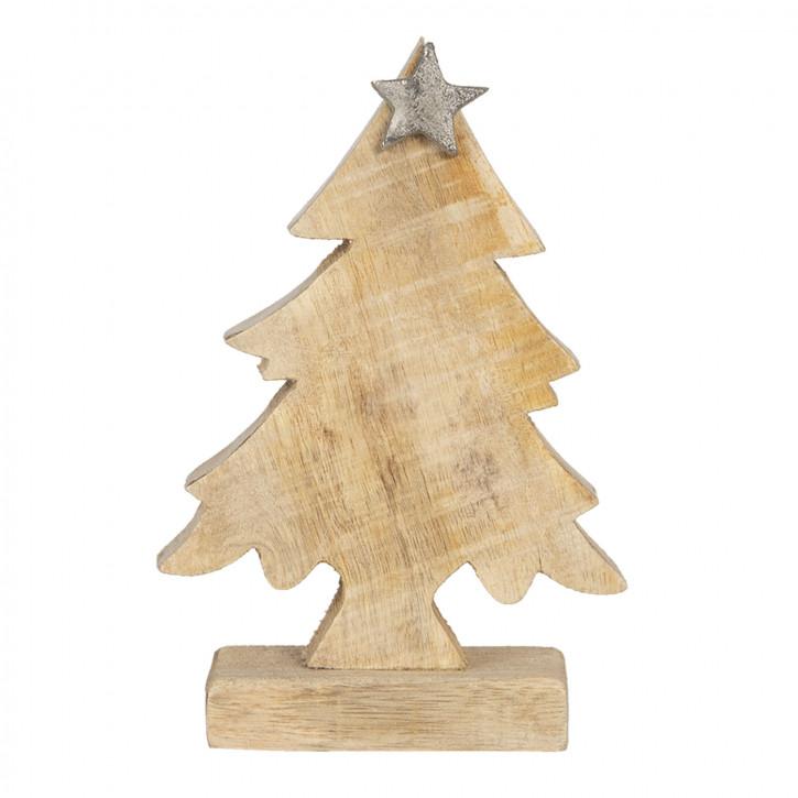 Dekoration Weihnachtsbaum 12x5x15 cm