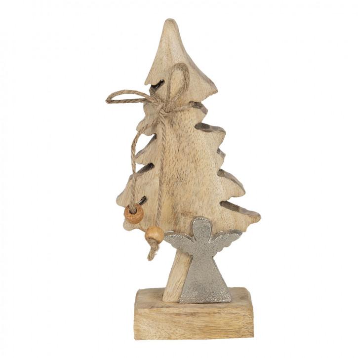 Dekoration Weihnachtsbaum 7x5x17 cm