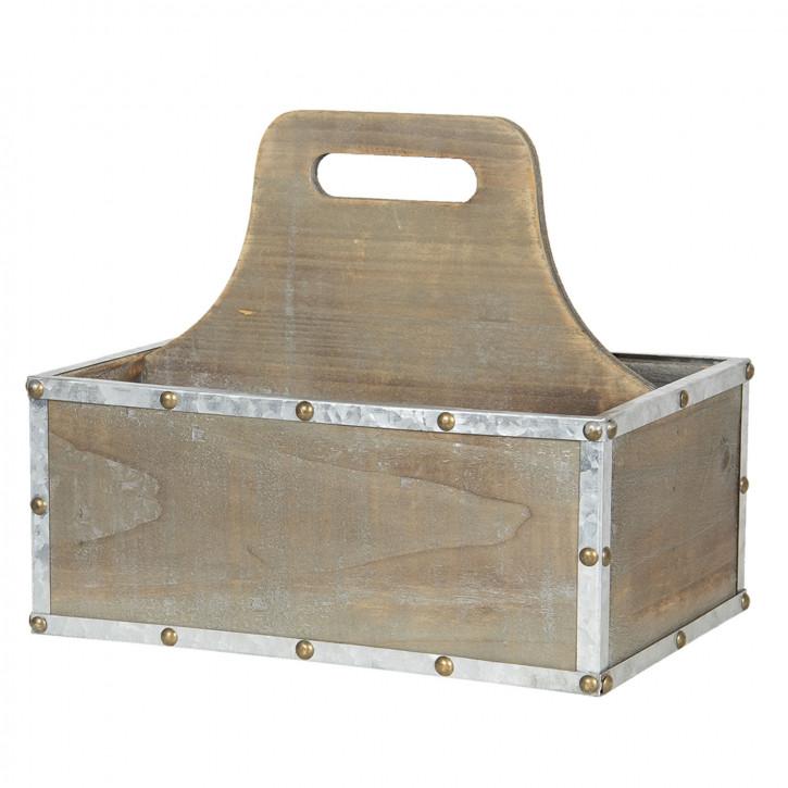 Behälter mit Fächern 28x19x24 cm