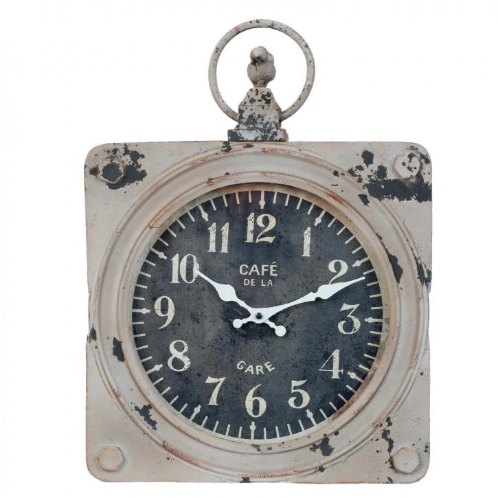 Uhr Wanduhr ca. 34 x 49 x 7 cm