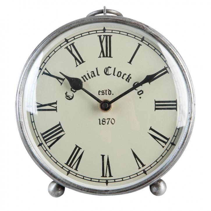 Stand Metal Colonial Uhr Ø 16x6 cm
