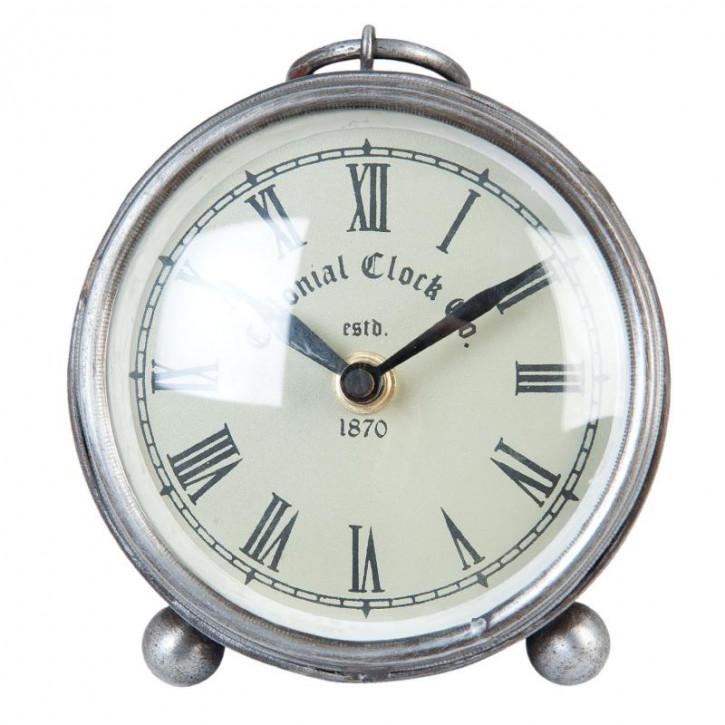 Stand Metal Colonial Uhr Ø 11x5 cm