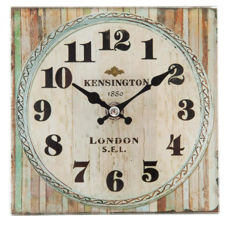 Kleine Wanduhr Kensington 15x4x15 cm / 1xAA