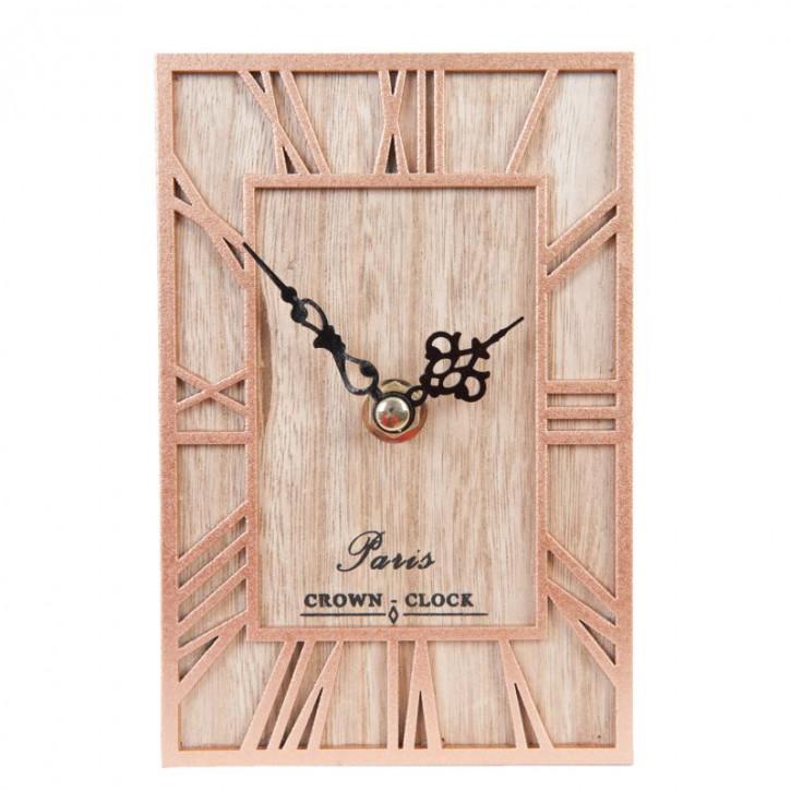 Wanduhr Paris Crown Uhr 10x4x15 cm