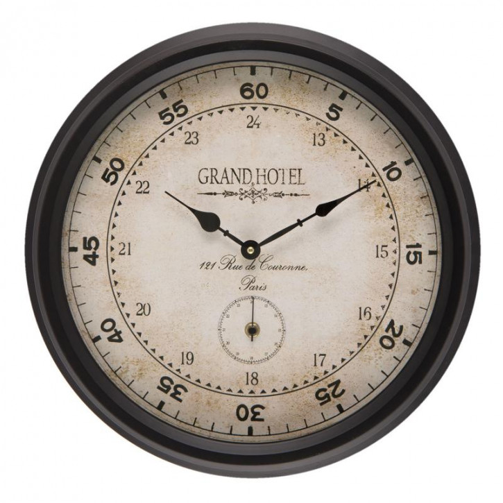 Uhr 42x8x42 cm / 2xAA