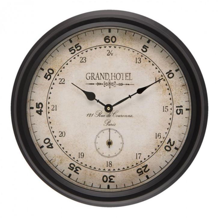 Uhr Ø 42x8 cm / 2xAA