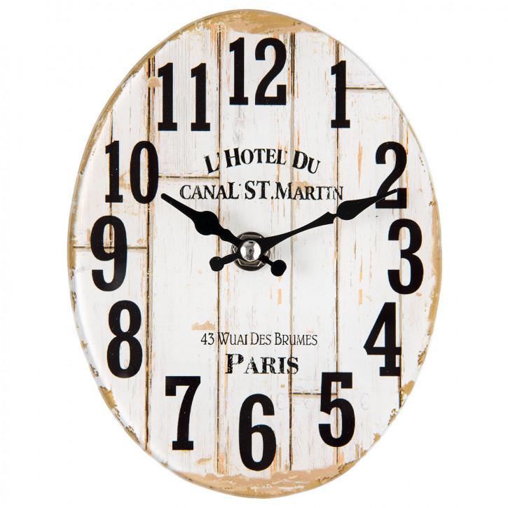 """Uhr """"Paris""""  13x4x17 cm"""