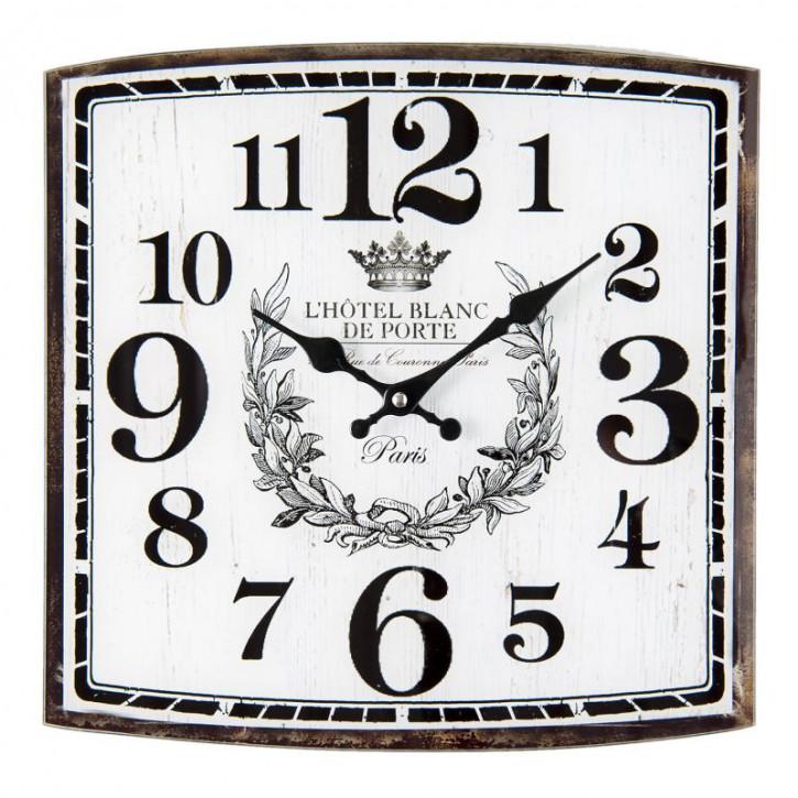 """Uhr """"L'Hotel"""" 34x4x34 cm"""