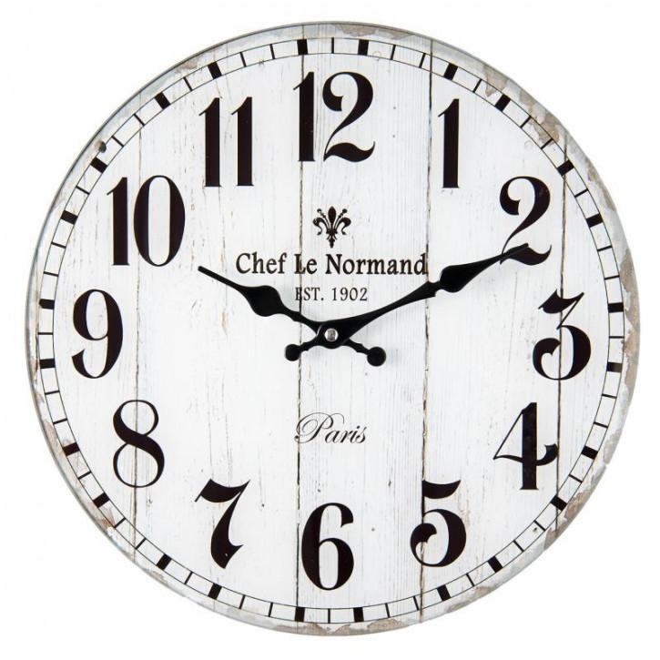 """Uhr """"Chef le normand"""" Ø 34x4 cm"""