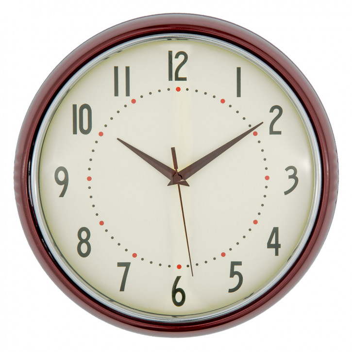 Uhr Ø 28x8 cm / 1xAA