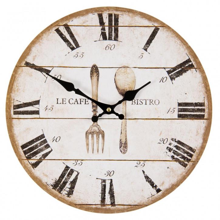 "Retro Uhr ""France"" Ø 34x4 cm / 1xAA"