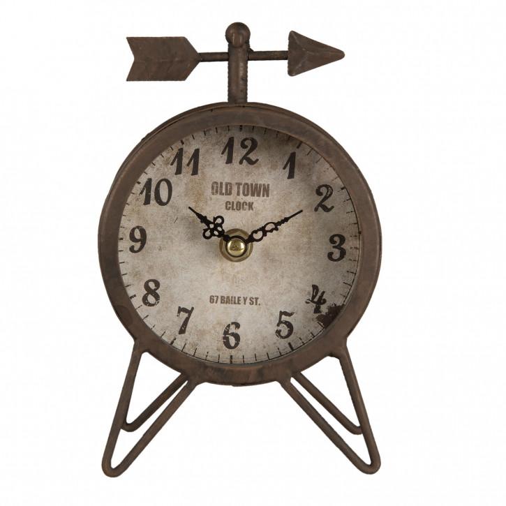 Uhr 12x8x18 cm