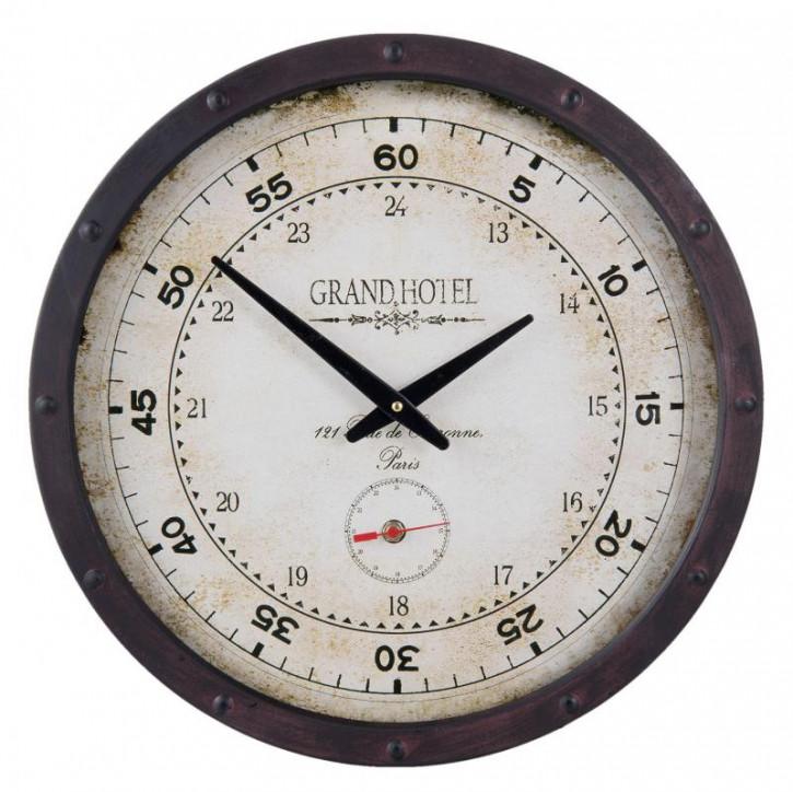 Uhr Ø 40x8 cm / 2xAA