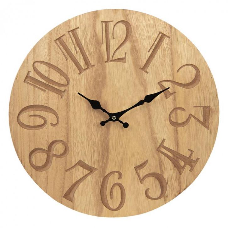 Uhr Ø 40x4 cm / 1xAA