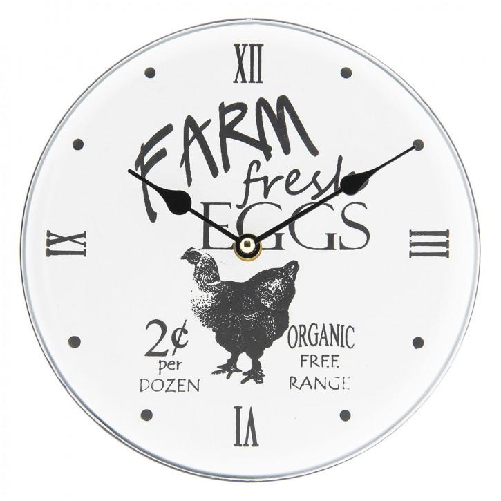 Uhr Ø 23x4 cm / 1xAA