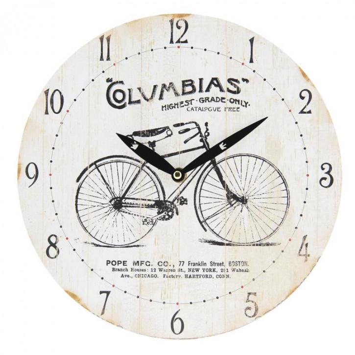 Uhr Ø 29x4 cm / 1xAA