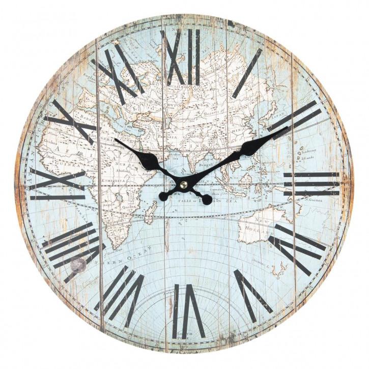 Uhr Ø 34x4 cm