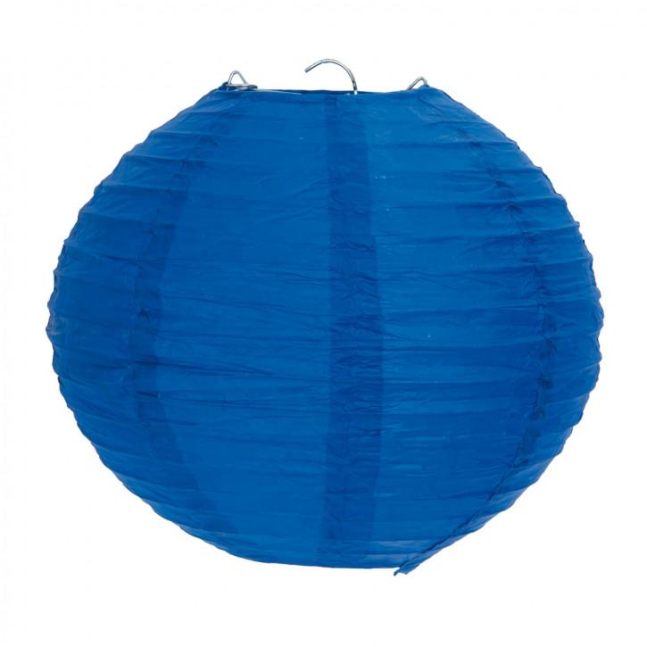 Lampenschirm blau 20 cm
