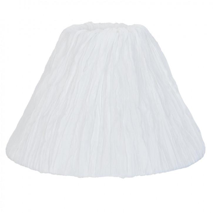 Lampenschirm weiß ca. Ø 25 x 17 cm
