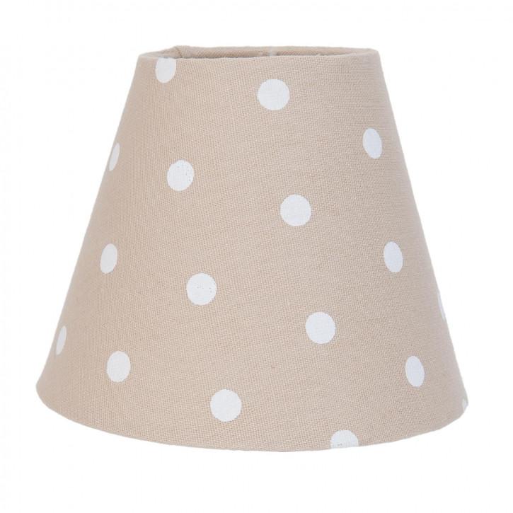 Lampenschirm beige 15 cm / E27