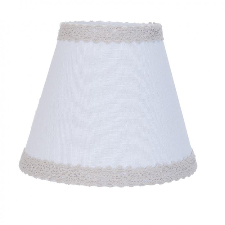 Lampenschirm weiß 15 cm / E27