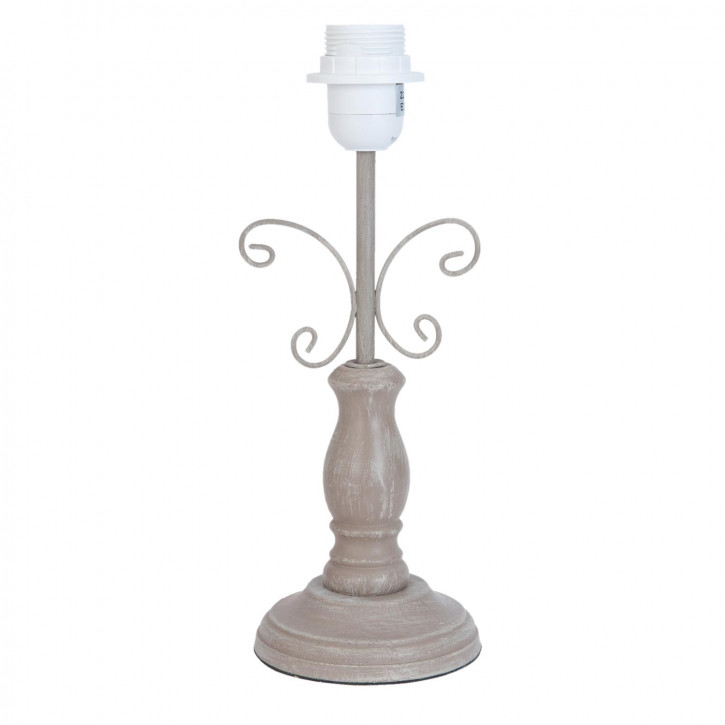 Lampenfuß braun ca. Ø 12 x 31 cm