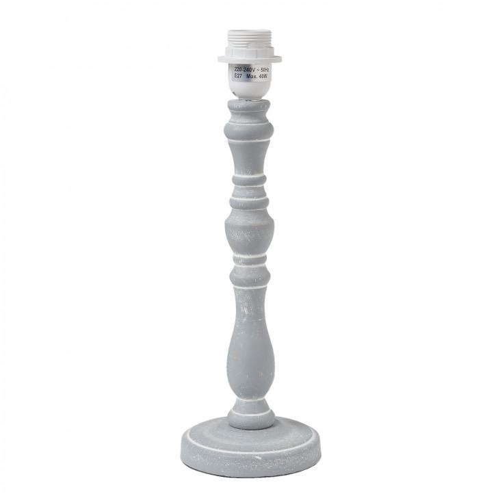 Lampenfuß aus Holz Ø 13x39 cm