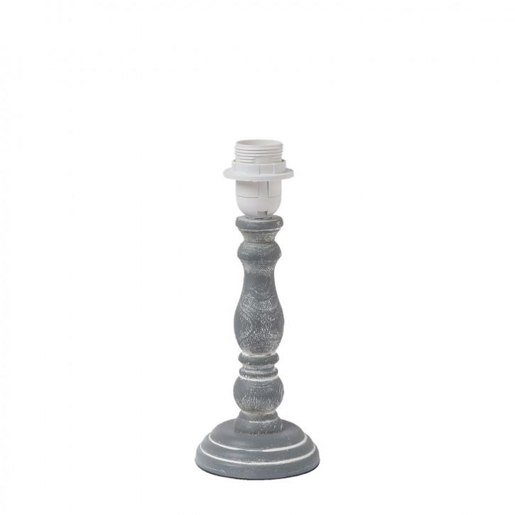 Lampenfuß aus Holz Ø 10x26 cm