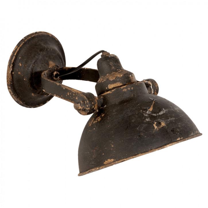 Wandlampe Retro schwarz 21x30x19 cm E14/25W