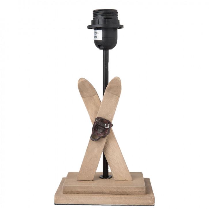 """Lampen Fuß """"Ski"""" 15x10x29 cm"""